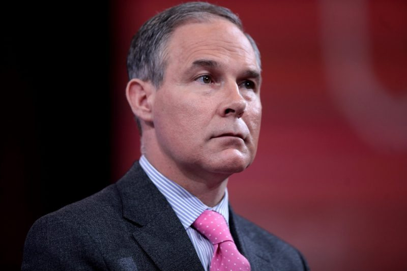Scott Pruitt climate change